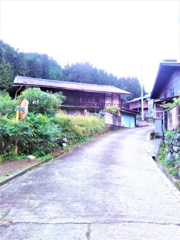 下仁田町【西野牧】の空き家がある集落
