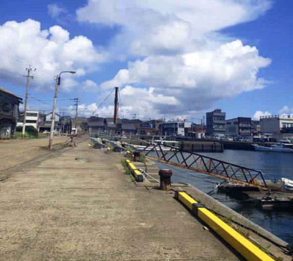 長崎県小値賀町の漁港