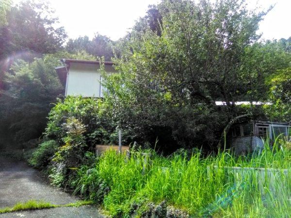 浜松市天竜区春野で見つけた空き家